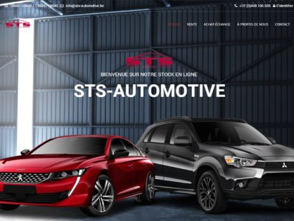 Lancement du site web STS-Automotive