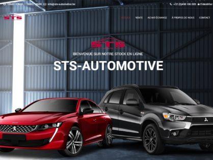 Lancement du site web STS-Automotive